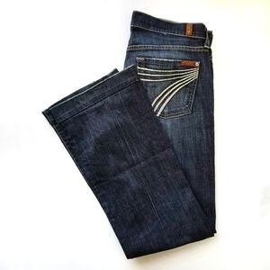 7 For All Mankind | Dojo Dark Wash Jeans